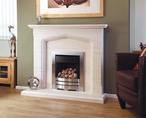 Newman Portuguese Limestone Fireplaces - Algarve from Designer Collection
