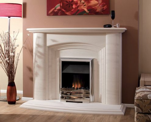 Newman Portuguese Limestone Fireplaces - Santana from Designer Collection