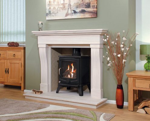 Newman Portuguese Limestone Fireplaces - Beja from Designer Collection