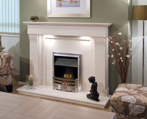 Newman Portuguese Limestone Fireplaces - Barcelos from Designer Collection