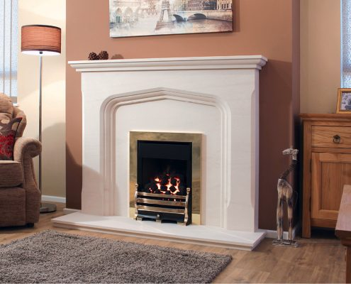 Newman Portuguese Limestone Fireplaces - Ribeiro from Designer Collection