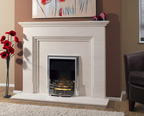 Newman Portuguese Limestone Fireplaces - Funchal from Designer Collection
