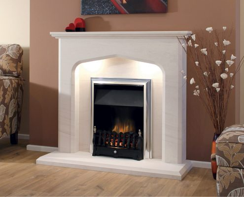 Newman Portuguese Limestone Fireplaces - Viana from Designer Collection