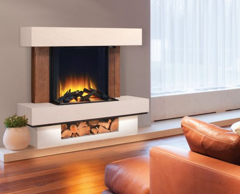 Newman Citrin El Deluxe Electric Fireplace