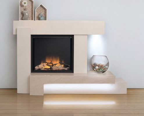 Newman Europa El Electric Fireplace