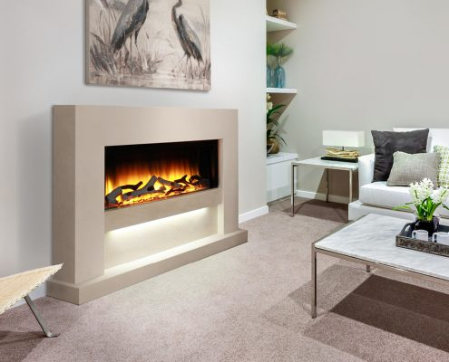 Newman Calypso Electric Fireplace