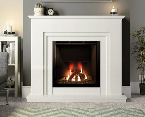 Wildfire HE 900 (Avellino Suite) Glass Fronted Gas Fire