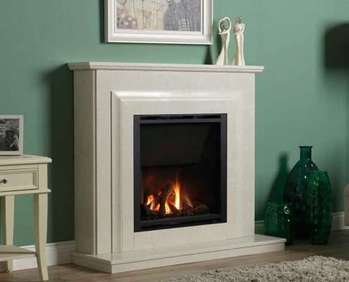 Wildfire HE 900 (Dawn Suite) Glass Fronted Gas Fire