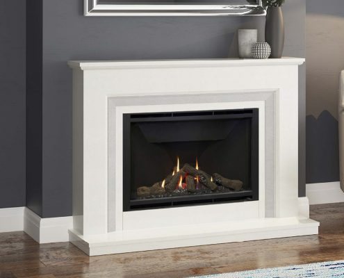 Wildfire HE 950L (Seville Suite) Glass Fronted Gas Fire