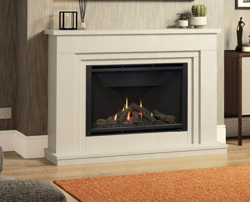 Wildfire HE 950L (Palma Suite) Glass Fronted Gas Fire