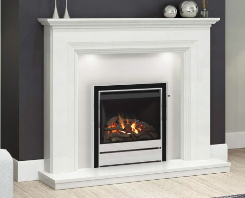Panama HE (Salvador Suite) Glass Fronted Gas Fire
