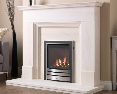 Cressida HE Glass Fronted Gas Fire