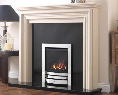 Pesaro HE Glass Fronted Gas Fire