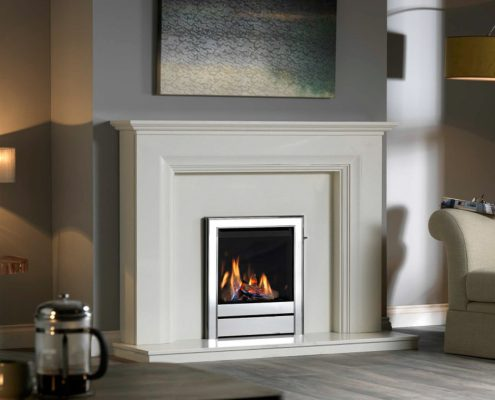 Ravel HE (Salvador Suite) Glass Fronted Gas Fire