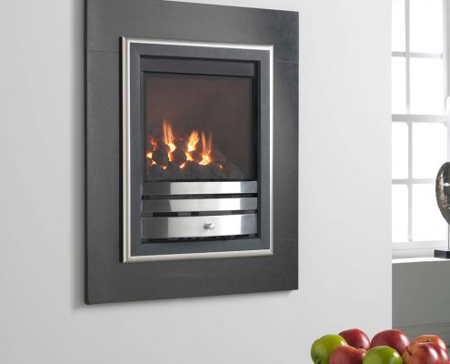 Wildfire Ellipsis HIW Glass Fronted Gas Fire
