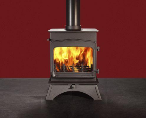 Woodwarm Wildwood Slender 5kW woodburning stove