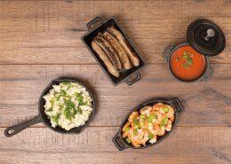 Valiant miniature cast iron cookware set