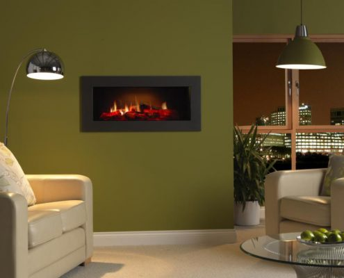 Dimplex Opti-V PGF10 Built-inElectric Fire