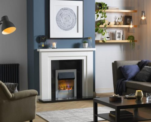 Dimplex Optiflame 3D PortreeHearth Mounted Electric Fire