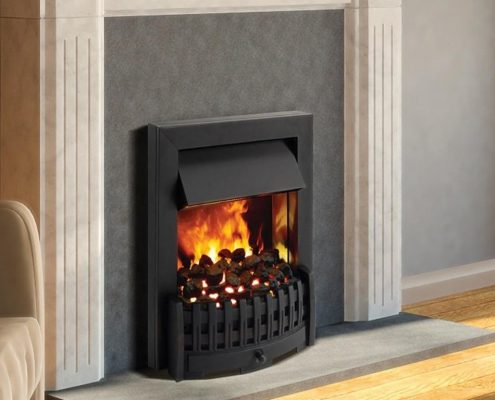 Dimplex Danville Optimyst Electric inset fire in Black