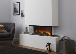 British Fires: New Forest 870 electric fire - 3 sided