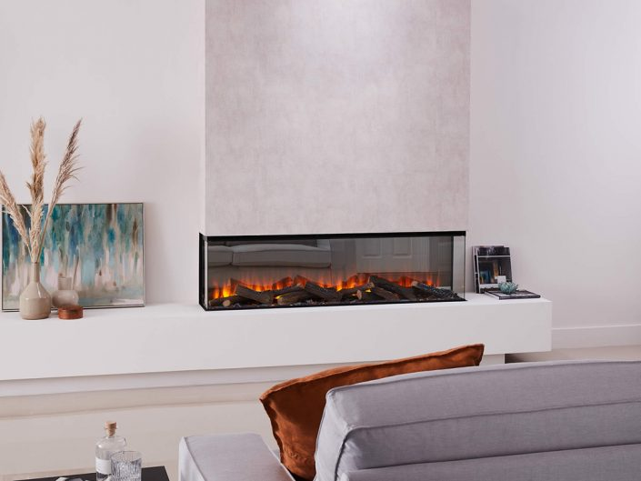 British Fires: New Forest 1600 electric fire - 3 sided