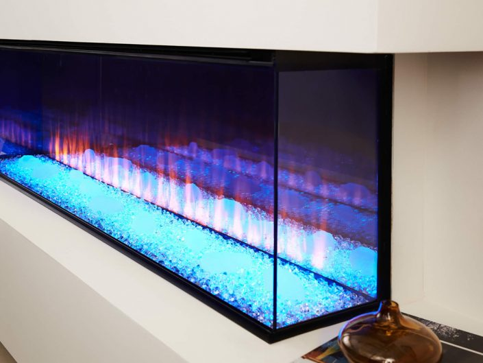 British Fires: New Forest 1600 electric fire - Diamin Light