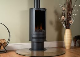 British Fires: New Forest Ashurst electric stove