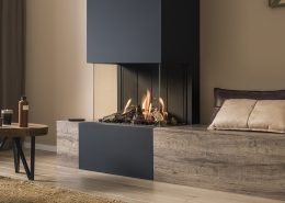 Vision Trimline - TL63P Panoramic Gas Fire